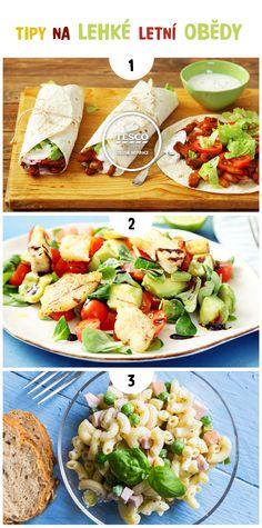 Připravte si lehký letní oběd podle našich receptů!