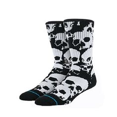 Reinforced heel & toe Stance Ulo 2 Toe Socks for Men Toe Socks For Men, Large Black, Heels, Accessories, Men's Socks, Skulls, Philosophy, Connection, Personality