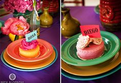 Mexican Inspired Wedding Ideas, love all the color and flowers
