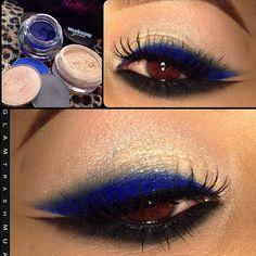 Beautiful makeup using makeupgeek's eyeshadows/pigments