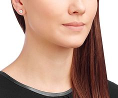 Solitaire Pierced Earrings - Gifts - Swarovski Online Shop
