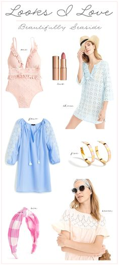 Influencer Desiree Leone of Beautifully Seaside shares new J.Crew resort arrivals to pack for your next vacation! Spring Summer Fashion, Spring Outfits, J Crew Summer, Beach Vacation Outfits, Fashion For Women Over 40, Night Looks, Fashion Photo, Seaside, What To Wear