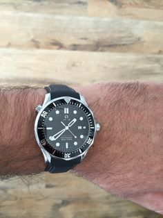 #seamaster #omega #wrist