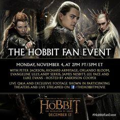 Un recap de Lo Hobbit Fan Event del 4 Novembre #HobbitFanEvent  #LoHobbit #DesolazionediSmaug #TheHobbit #Hobbit