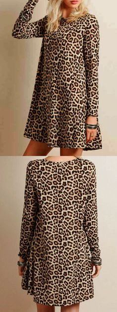 Have you been longing for a cool dress? why not have try on this kind of leopard dresses at Choies.com? All what you have been searching will end there.