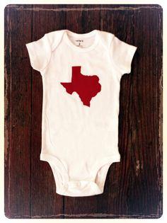 Baby Onesie  My State by beetlebumdesign on Etsy