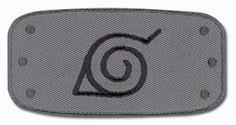 Naruto: Patch - Leaf Logo (Konoha) [IRON-ON] on eBay!
