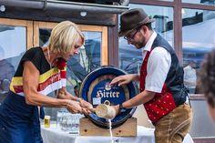 Bieranstich Kirchtag 2018 im Naturel Hoteldorf SEELEITN, von der Dorfbürgermeisterin persönlich. Captain Hat, Vacation