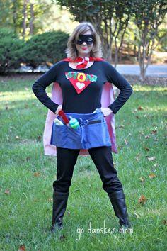 SuperMom {A Halloween Costume}