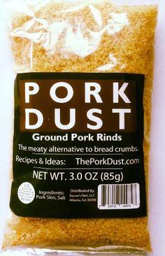 Pork Dust - Pork Rind Breadcrumbs (Pack of 3) Bacon's Heir,http://www.amazon.com/dp/B00FWW3UAS/ref=cm_sw_r_pi_dp_Z.FZsb13CQPTF5R6