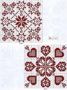 Biscornu squares