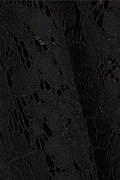 Diane von Furstenberg - Carly Guipure Lace Dress - Black - US12