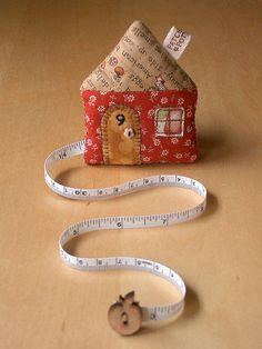 Cottage tape measure case