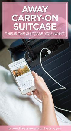 Pinterest Away Suitcase www.thetravelpockets.com