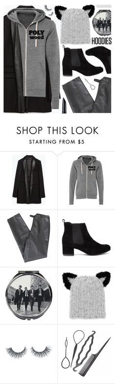 """""""Winter Layering: Hot Hoodies"""" by pastelneon on Polyvore featuring Zara, Polywood, Lafayette 148 New York, Disaster Designs, Eugenia Kim, Benefit, women's clothing, women's fashion, women and female"""