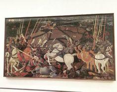 #artcoffeebreak #masterpiece #uffizigallery #upanddownthechianti . Paolo Uccello and International Gothic scene
