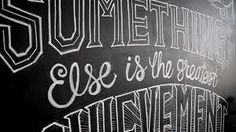 chalk lettering - Google 検索