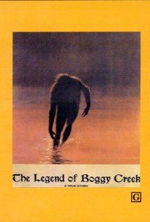 The Legend of Boggy Creek-such a cheesy 70's movie, but when I was a kid, this movie gave me so many nightmares