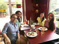 lunch out with sis & co. #bigsisterduties #bigsisterbully #postduty