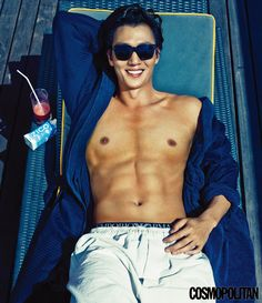 Kim Rae Won Sunned His Six Pack In Bali For Cosmopolitan Korea