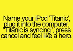 Fun with iPod - Funny Quotes
