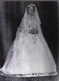 Princess Alice, (daughter of Queen Victoria) looking solemn here, married Ludwig of Hesse in July 1862
