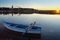 Sunrise. Nin, Croatia