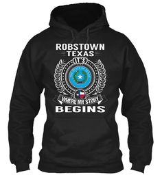 Robstown, Texas - My Story Begins