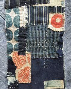 Brooklyn Haberdashery Lovely handwork Fabric art