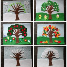 This is such a great way to discuss weather with toddlers and preschool-aged kids. They'd love matching their felt board to the weather outside.