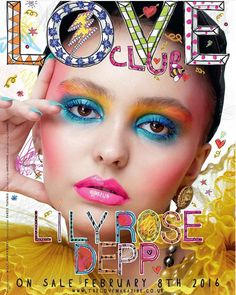 She's the model daughter of Johnny Depp and Vanessa Paradis but Lily-Rose Depp says it's not easy being her and admits that social media stresses her out. Lily Rose Melody Depp, Online Magazine, Love Magazine, Fashion Magazine Cover, Magazine Covers, Magazine Pictures, Paper Magazine Cover, Magazine Stand, Magazine Art