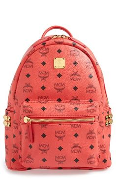 MCM+'Small+Stark'+Side+Stud+Backpack+available+at+#Nordstrom