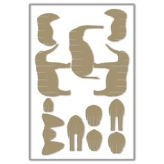D-Torso Cardboard Animals - Horse Cardboard Cartons, Diy Cardboard, Scroll Saw Patterns, Wood Patterns, Fish Crafts, Crafts To Do, 3d Puzzel, Cardboard Animals, Laser Cutter Engraver