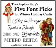 Five Great Holiday Fonts
