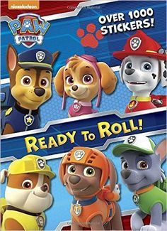 Ready to Roll! (Paw Patrol) (Color Plus 1, 000 Stickers): Golden Books: 9780553507959: Amazon.com: Books