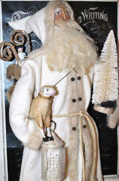 Sinter Klaas... OOAK Olde World German Folk Art Santa
