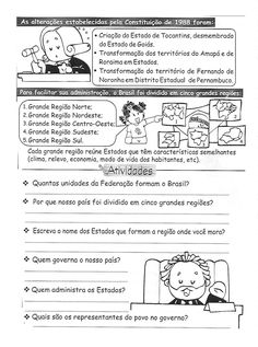 Blog Professor Zezinho : Atividades de Geografia para 5° ano