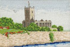 St Mary Le Port Church Ruins (Bristol, UK) - Cross Stitch Kit