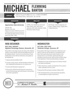 the Detailed resume by Loft Resumes - $99
