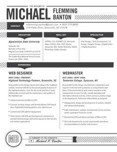 Exceptional Sample Hotel Resume Simple Modern Resume Sample For Job Hunter Shopgrat Contemporary  Resume Sample Templat Regarding Contemporary Resume