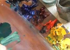 Painting Topical Tip by Paul Taggart - Lean Layer using Thinners in Oil Painting - Video Lessons of Drawing & Painting