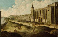 Jerónimos antes do terramoto de 1755. (Before the earthquake of 1755).