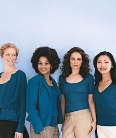 The 4 Universally Flattering Clothing Colors: Indian teal (Pantone 19-4227 TC) - photo by Deborah Jaffe for RealSimple.com
