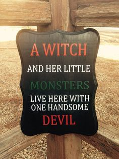 Halloween Sign by TheLittleSparkleShop on Etsy