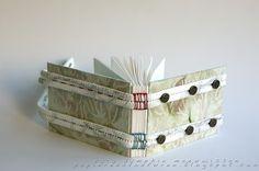 Papieren Avonturen: blanket stitch