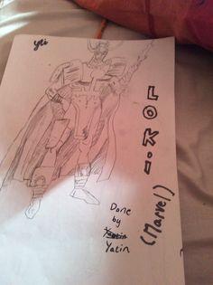 Loki from Thor ,by Yatin Toli