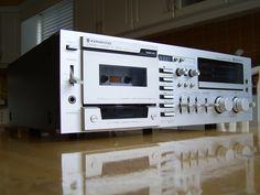 Philips Stereo Cassette Deck N5438 19quot Rack Mount Black