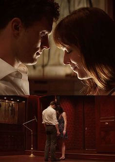 Christian & Anastasia in the Red Room of Pain for the very first time... ~ Fifty Shades of Grey Movie...