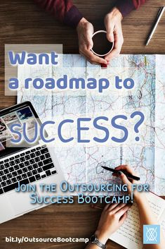 Do you wish there was a roadmap to business success? The Outsourcing for Success Bootcamp is a 5-day email series that will teach you how to outsource your business tasks so that you can succceed in entrepreneurship and increase your ROI. The bootcamp wil