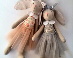 Birthday girl Gift girls Ballerina doll Rag doll Tilda doll